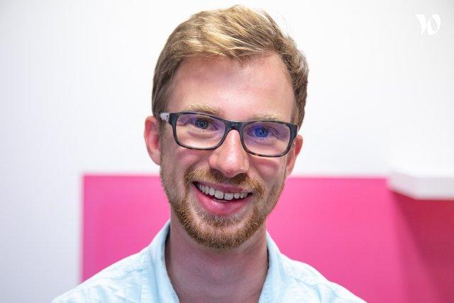 Rencontrez Corentin, Développeur Full Stack  - PEAKS