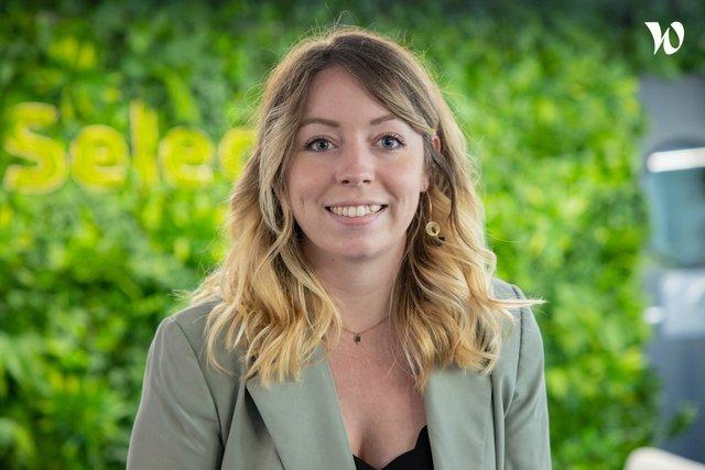 Rencontrez Pauline, Webmarketing & Content Right hand manager pôle Télécom - Selectra