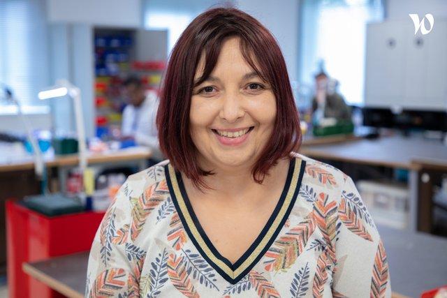 Rencontrez Laureen, Technicienne de production - Scrome