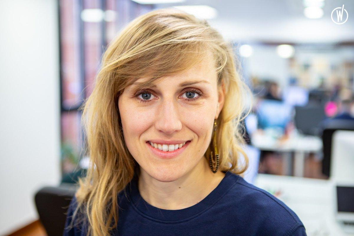 Meet Léa, PhD. Lead researcher in Microalgae Technology - ALGAMA FOODS