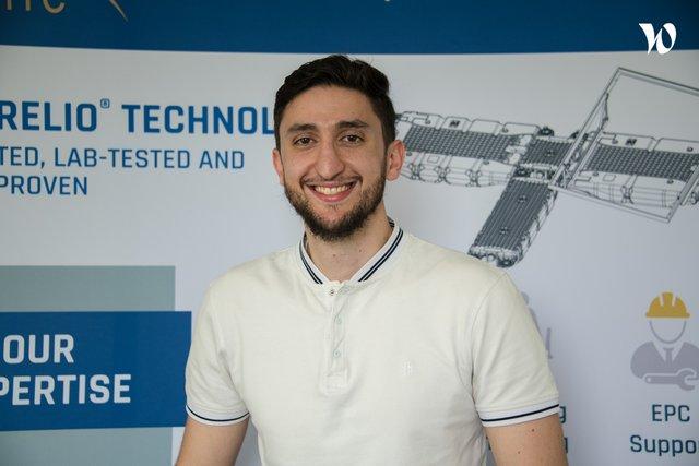 Rencontrez Alexandre, R&D engineer (HYDRELIO division) - Ciel & Terre International