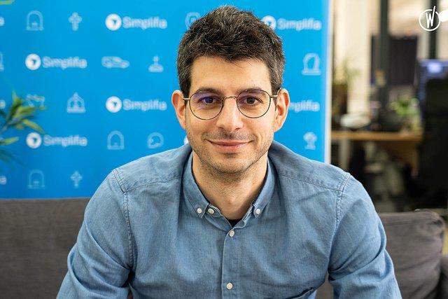 Rencontrez Kévin, Head of Sales - Simplifia