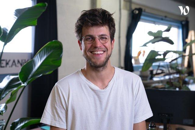 Rencontrez Maxime, Co-Fondateur - Ingénieur et responsable logistique - Mekanika