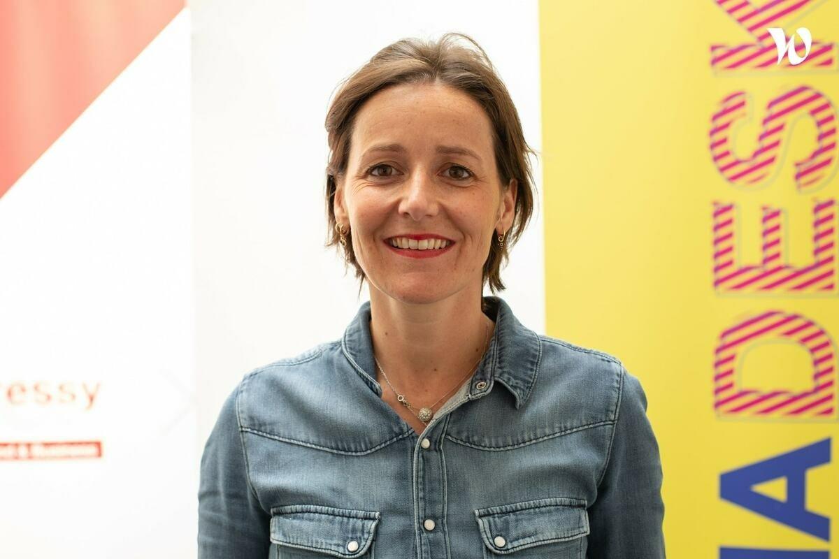 Rencontrez Mélanie , Directrice du Mediadesk Aressy / Epoka - Aressy & Associés