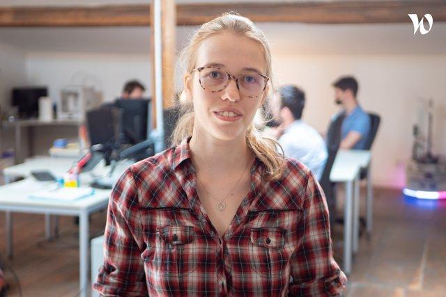 Rencontrez Anaëlle, Ingénieur Robotique - Wyca Robotics