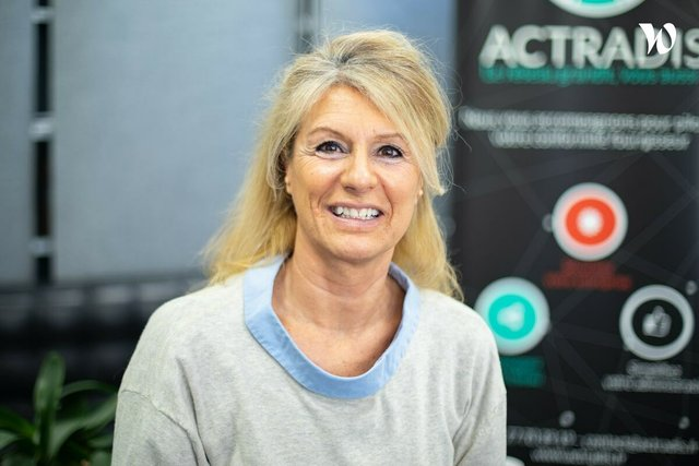 Rencontrez Anne, Chief Happiness Office Manager - ACTRADIS.FR