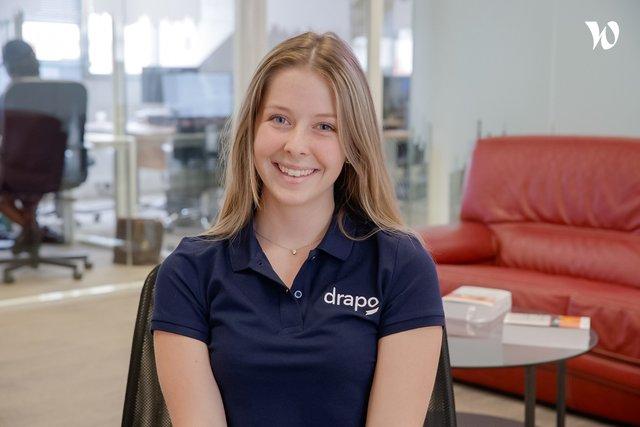 Rencontrez Annabelle, Assistante en communication - Drapo