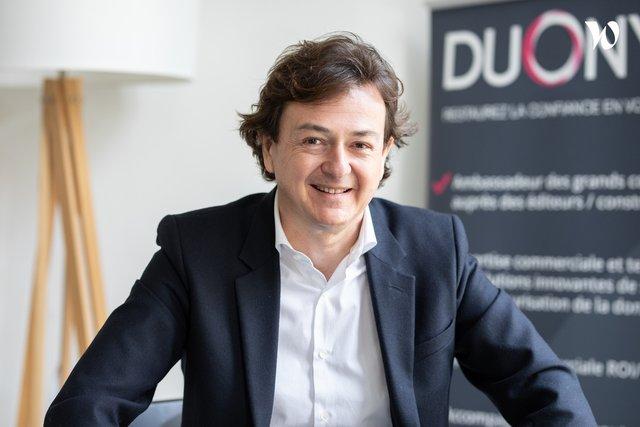 Rencontrez Guillaume, Co-Founder - DUONYX