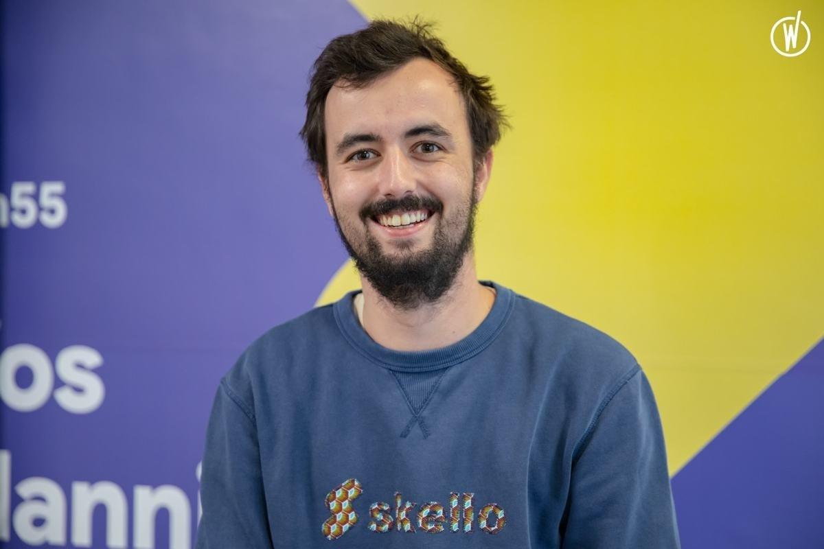 Rencontrez Célestin, Full Stack Developer - Skello