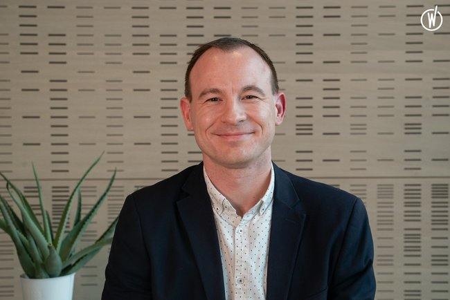 Rencontrez Yoann, Transformation Digitale Senior Manager - GROUPE ROULLIER