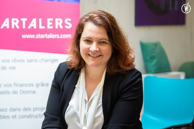 Meet Gaelle, CEO and co-founder - Startalers