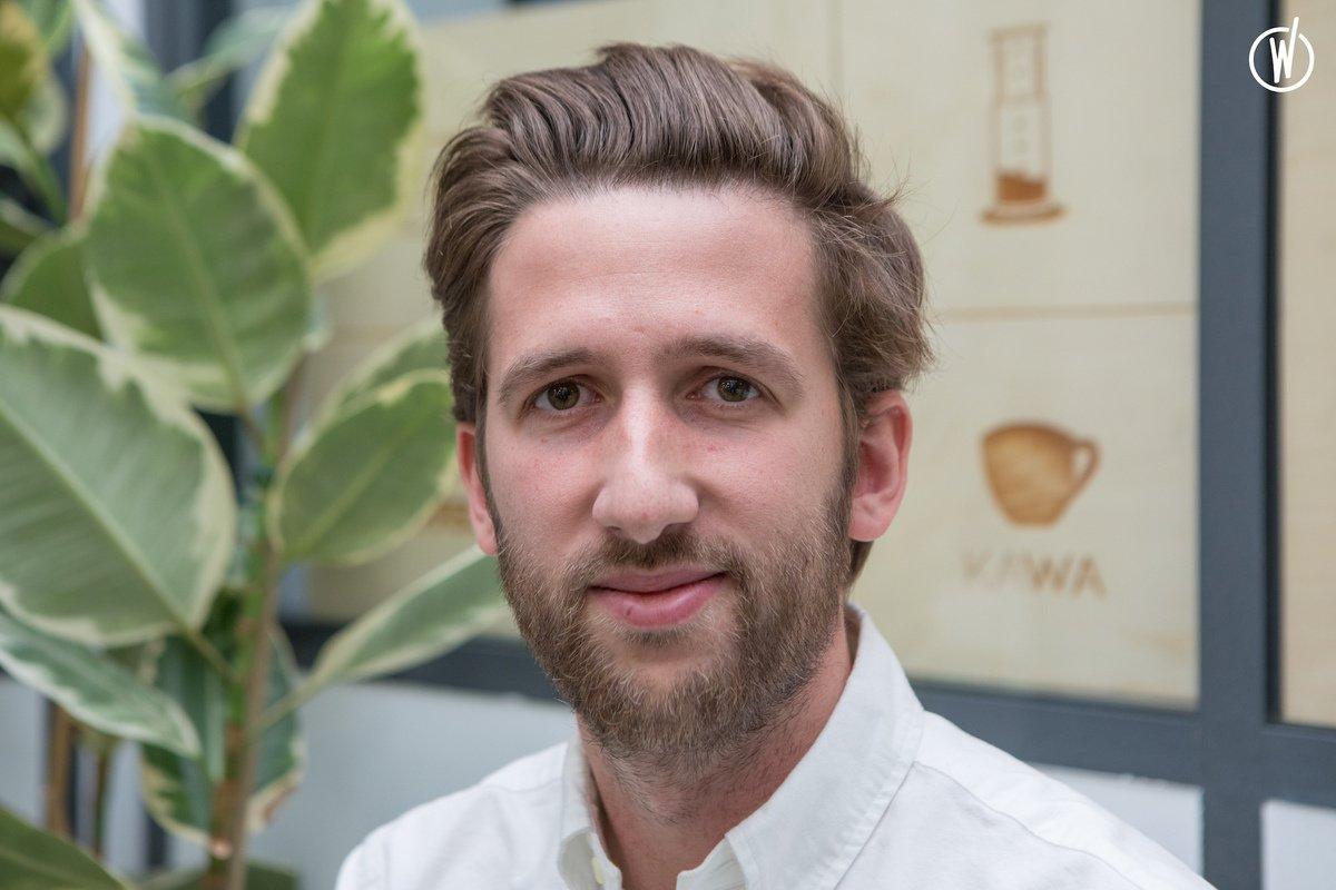 Rencontrez Alexis, Co fondateur - Kawa Coffee