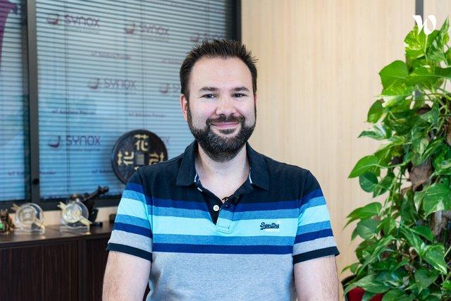 Rencontrez Sébastien, Responsable On Demand - Synox