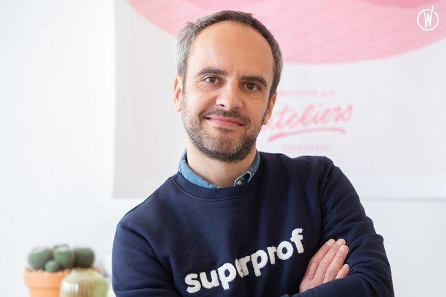 Rencontrez Wilfried, Fondateur & CEO - Superprof