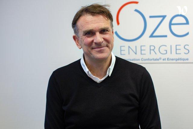 Rencontrez Gilles, Président et Fondateur  - Oze-Energies