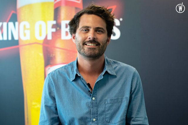 Rencontrez Christophe, Senior Brand Manager Bud - AB InBev France