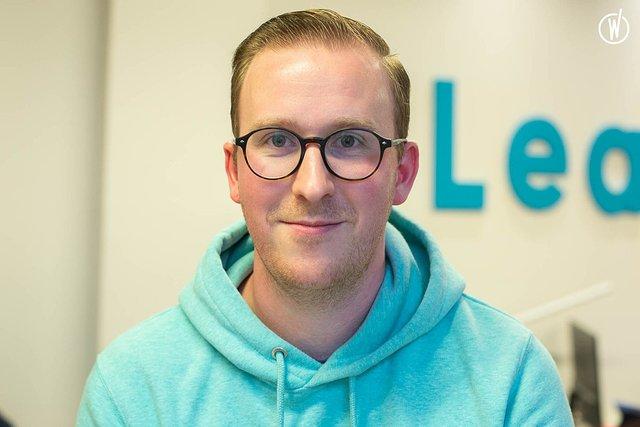 Rencontrez Julien, Lead Front End Developer - Leah