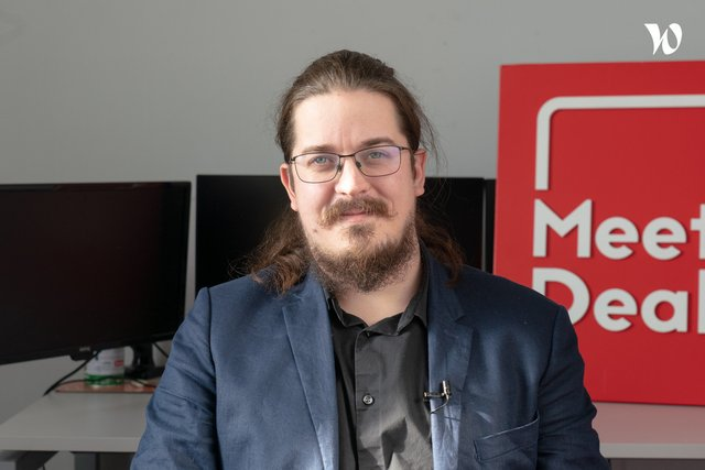 Rencontrez Goulven, Lead Developer - MeetDeal