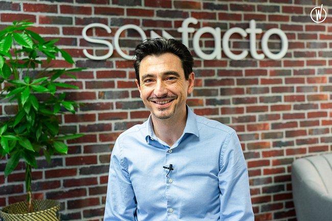 Rencontrez Frederi, CEO  - SOFACTO