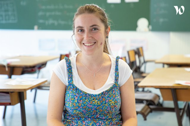 Rencontrez  Virginie, Enseignante - Espérance Banlieues