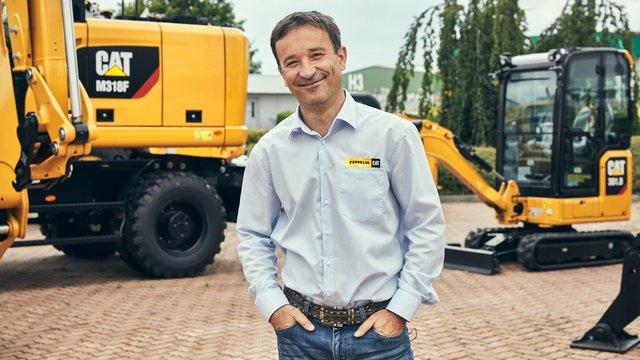 Tomáš Vejvoda, Prodejce stavebních strojů - Zeppelin CZ