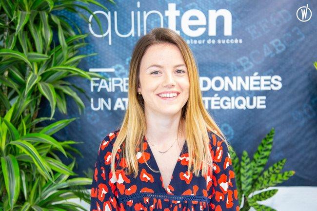 Rencontrez Mathilde, Directrice des opérations, Pôle santé - Quinten