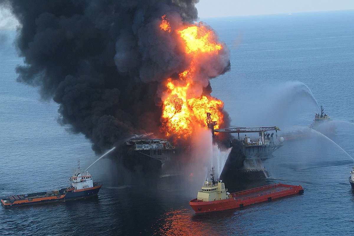 'I survived an oil rig explosion on my first job'