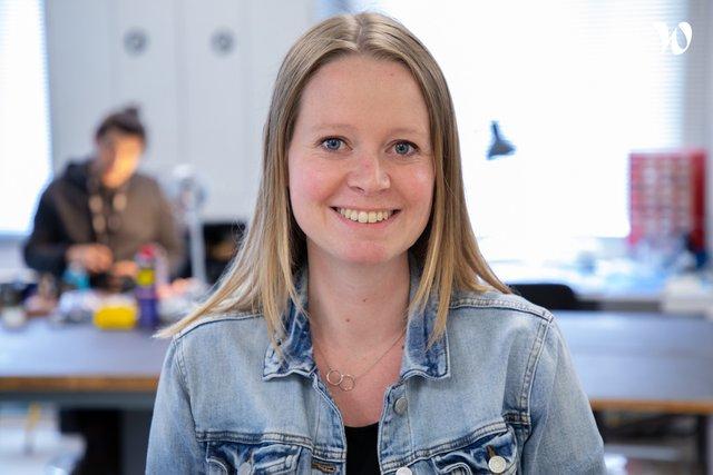 Rencontrez Jessica, Responsable bureau d'études - Scrome