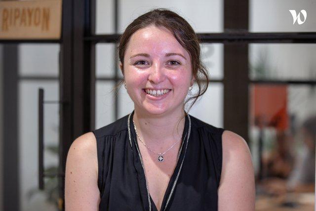 Rencontrez Clémentine, responsable des opérations - Ripayon