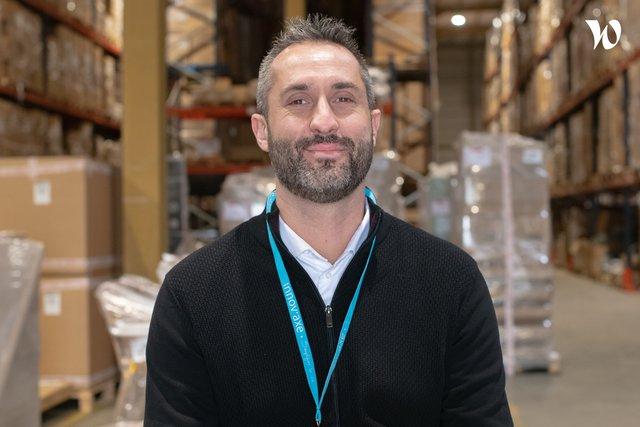 Rencontrez Arnaud, Directeur Logistique - Innovaxe