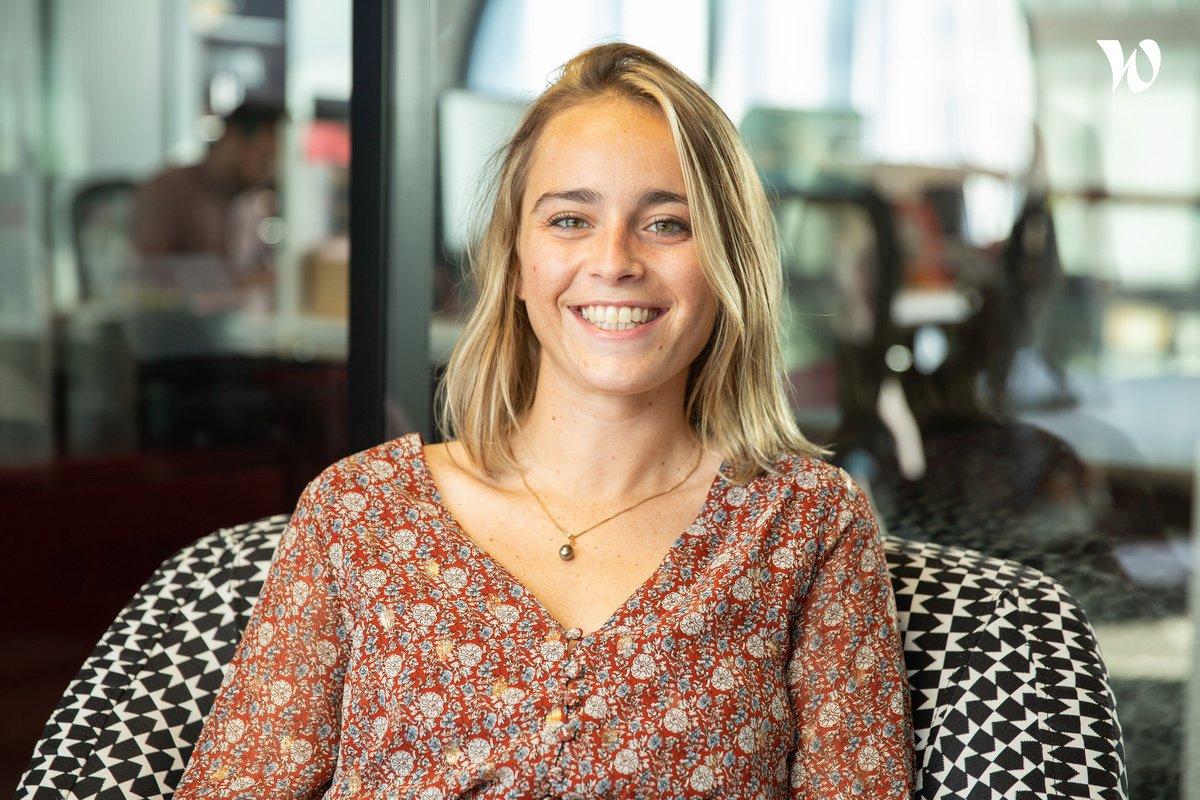 Rencontrez Mathilde, Responsable Marketing et CRM - L'Addition