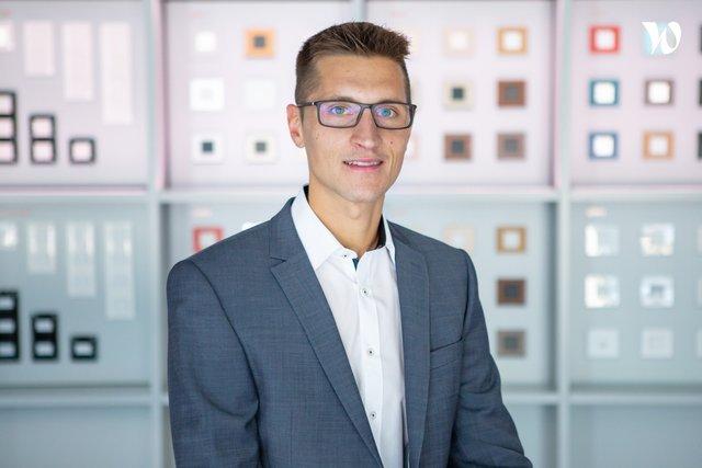 Rencontrez Laurent, Chef des ventes projets - Hager Group