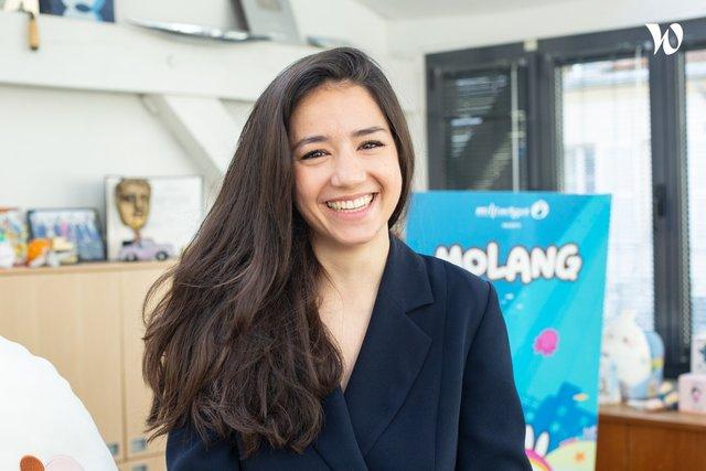 Rencontrez Lise, Directrice Marketing & Communication - Millimages