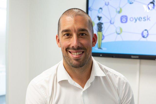 Rencontrez Ghislain, CEO - Founder - Oyesk