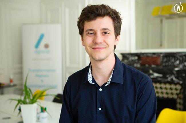 Rencontrez Alexandre, Analyste développeur - Apsia