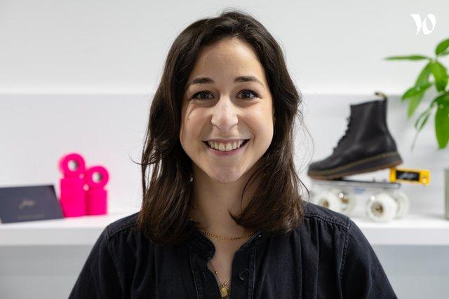 Rencontrez Mathilde, Responsable Marketing - Flaneurz