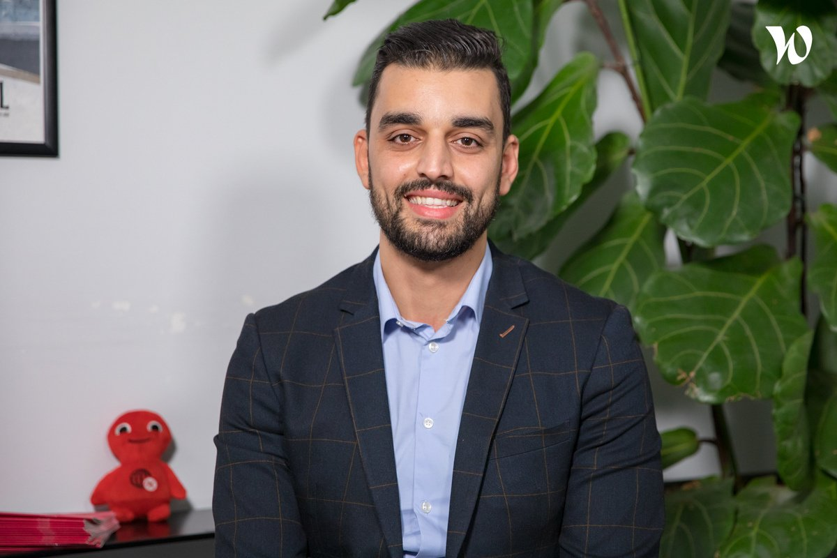 Rencontrez Hamza, Business Analyst - Groupe Nexeo