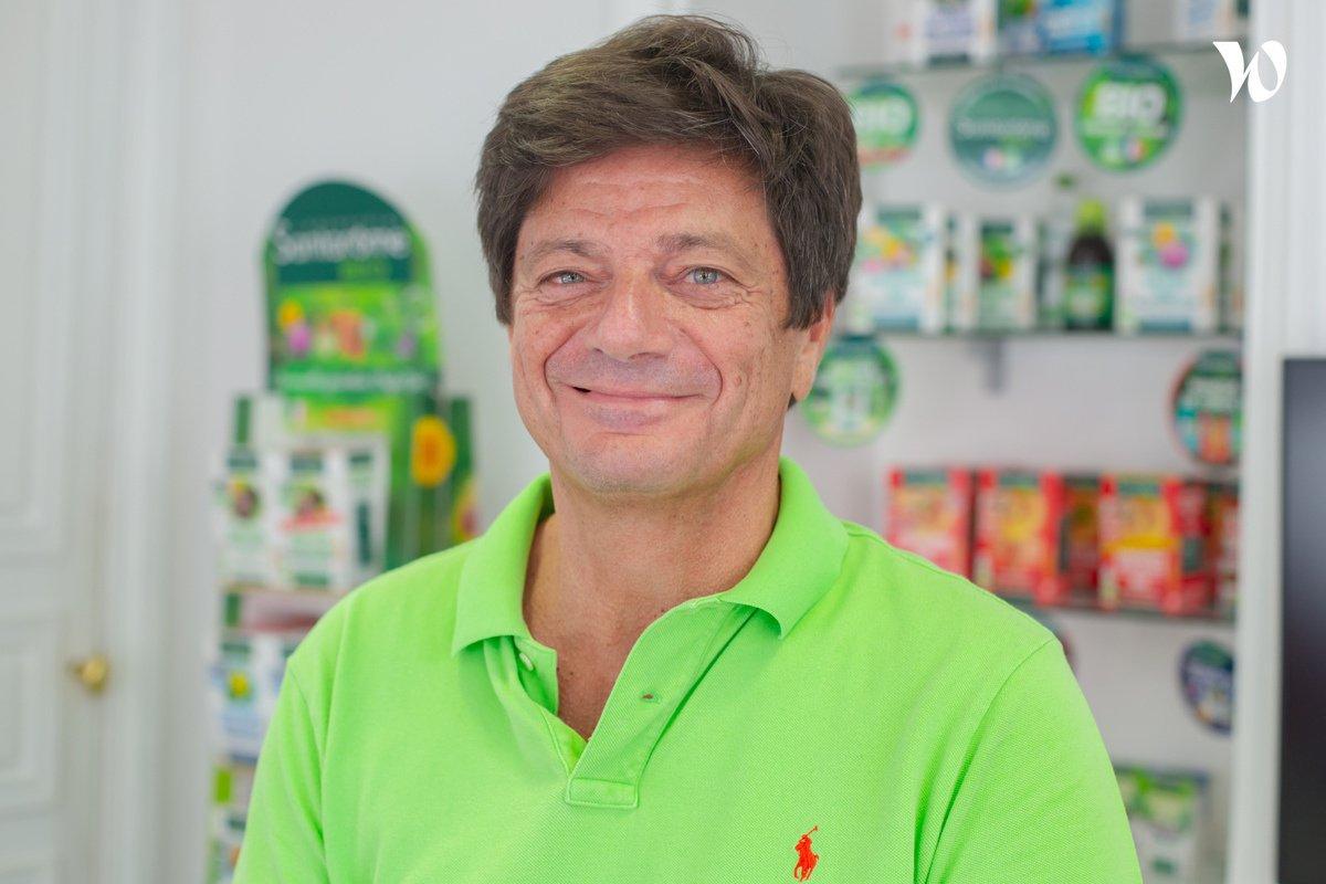 Rencontrez Alain, CEO - Santarome Bio
