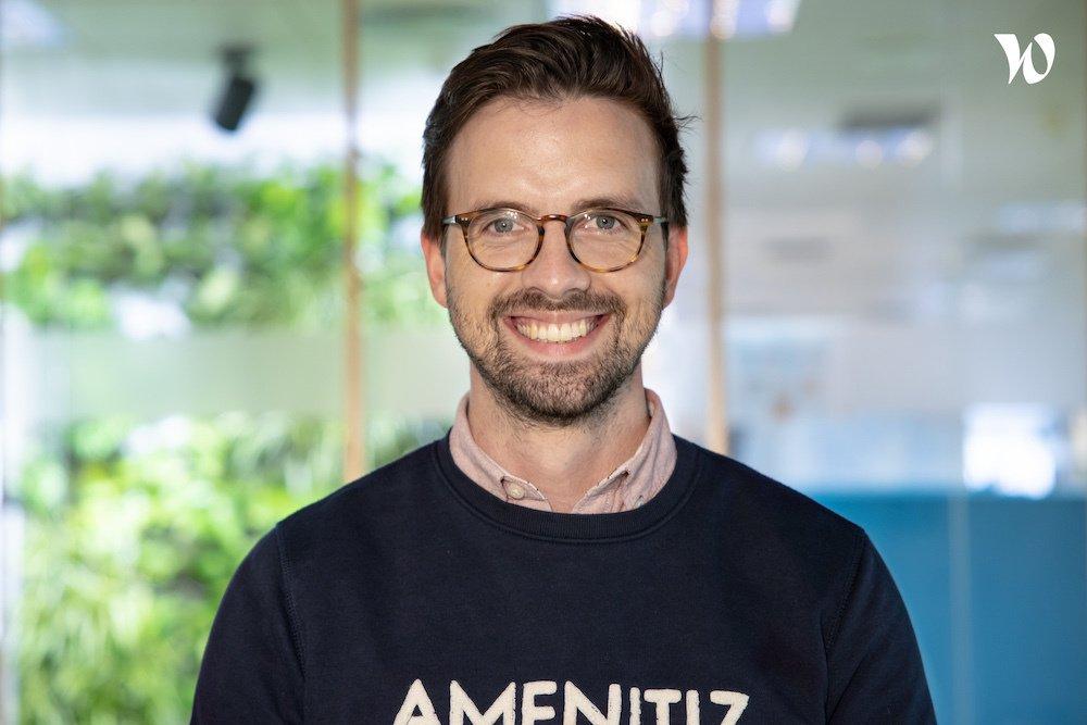 Meet Basile, Customer Care & Onboarding Manager - Amenitiz