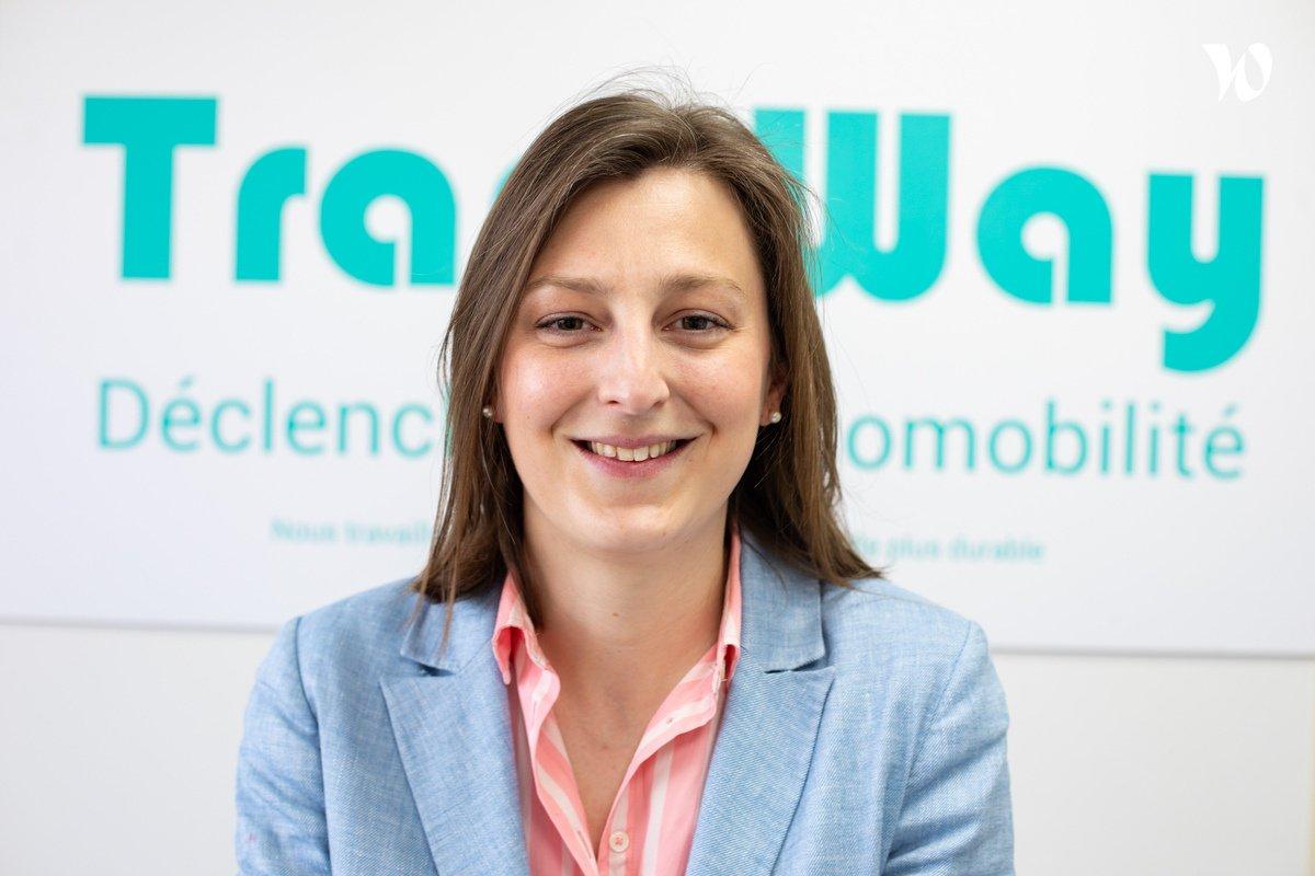 Rencontrez Hélène Marie, Cheffe de projet écomobilité Responsable d'affaire - TransWay