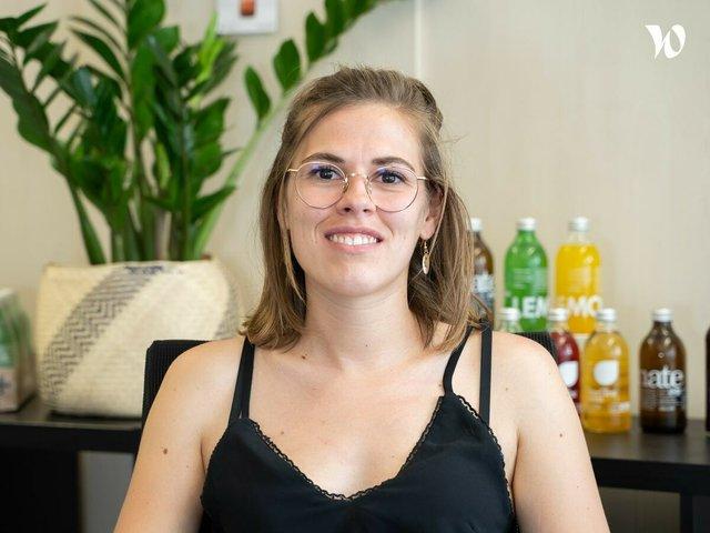 Rencontrez Marina, Commerciale CHR - Lemonaid & Charitea