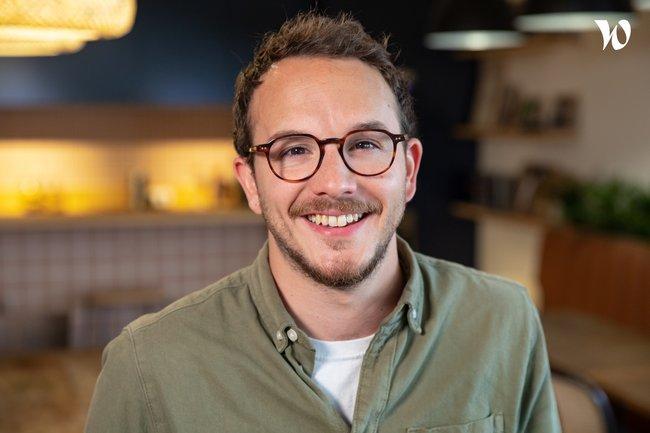 Rencontrez Thibault, Co-fondateur et Directeur du pôle marque - M. Moustache