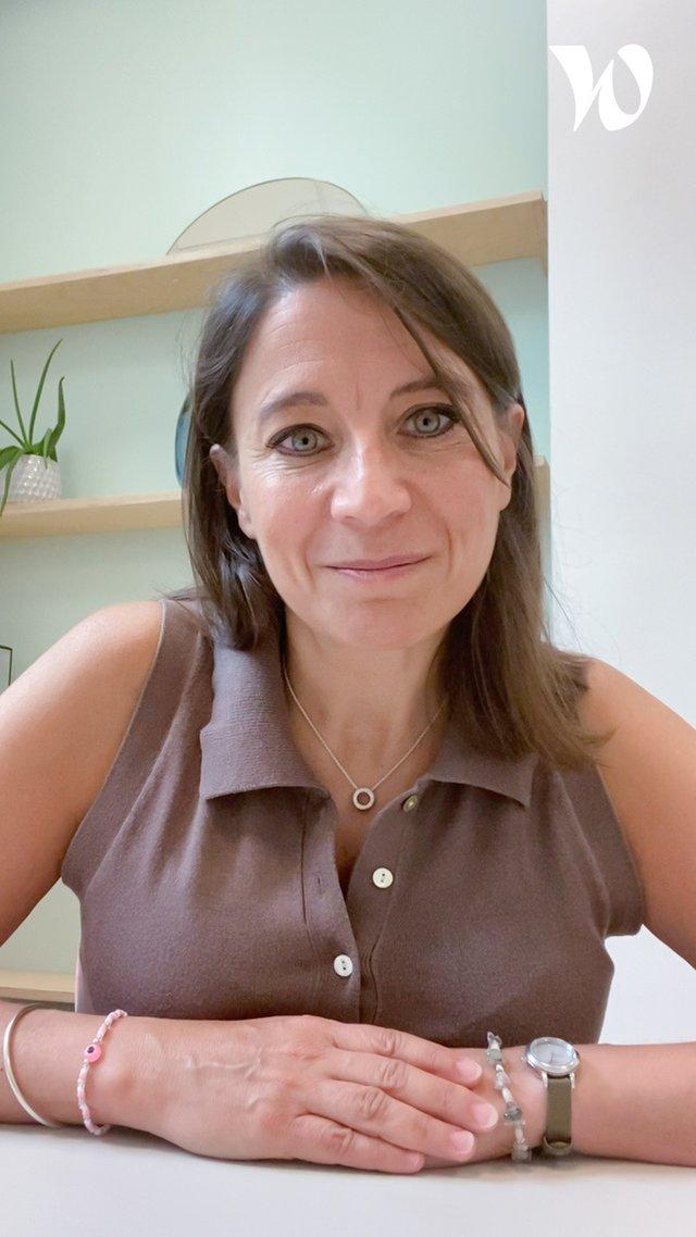Rencontez Cécile, CEO de KLS  - La Fabrique by CA