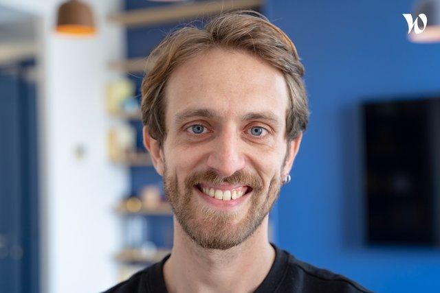 Rencontrez Benjamin, Lead developer Full Stack - homeloop