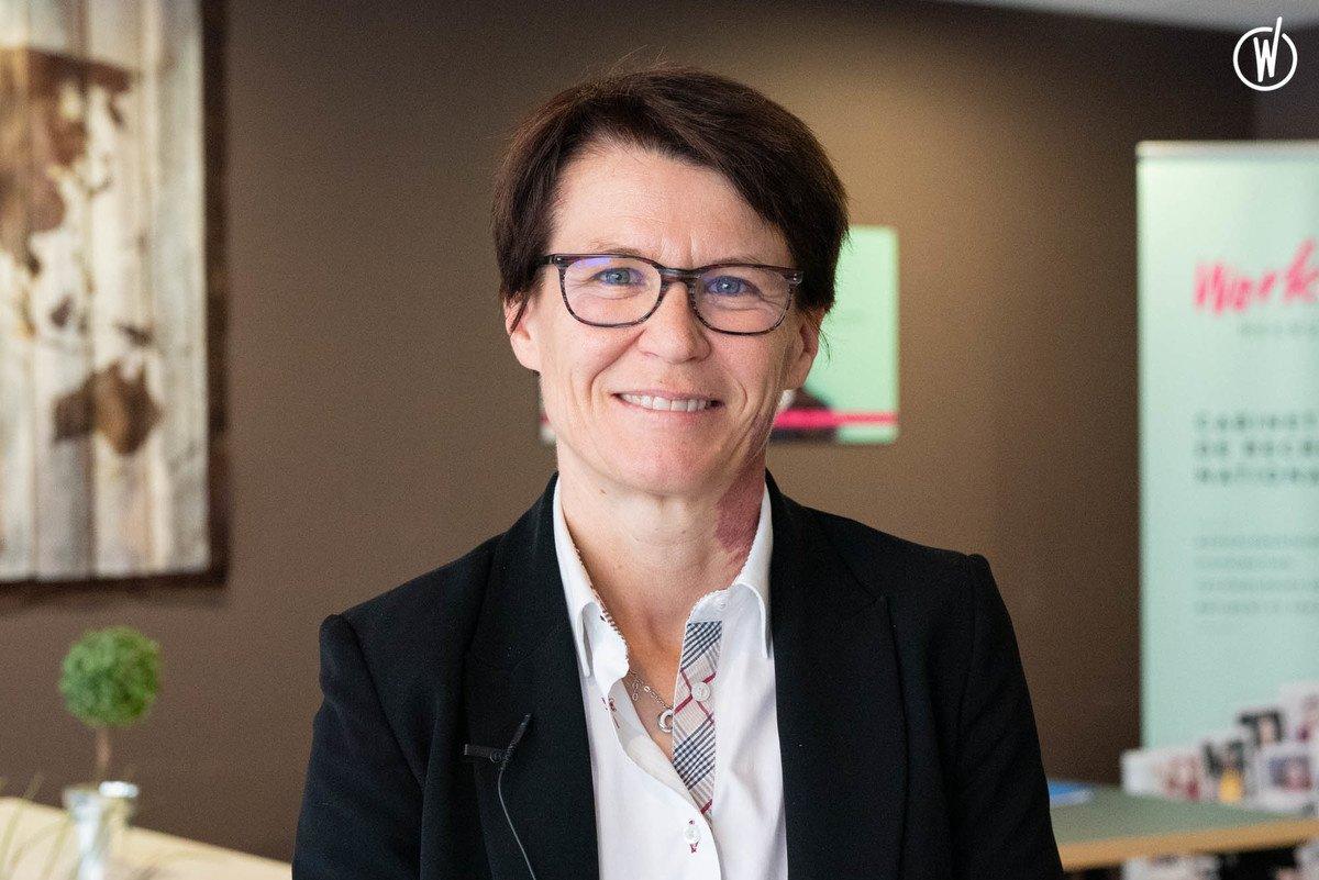 Rencontrez Béatrice , Responsable d'Agence Bordeaux - Work&You
