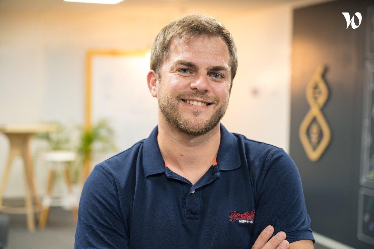 Rencontrez David, Vice président - IoT Valley