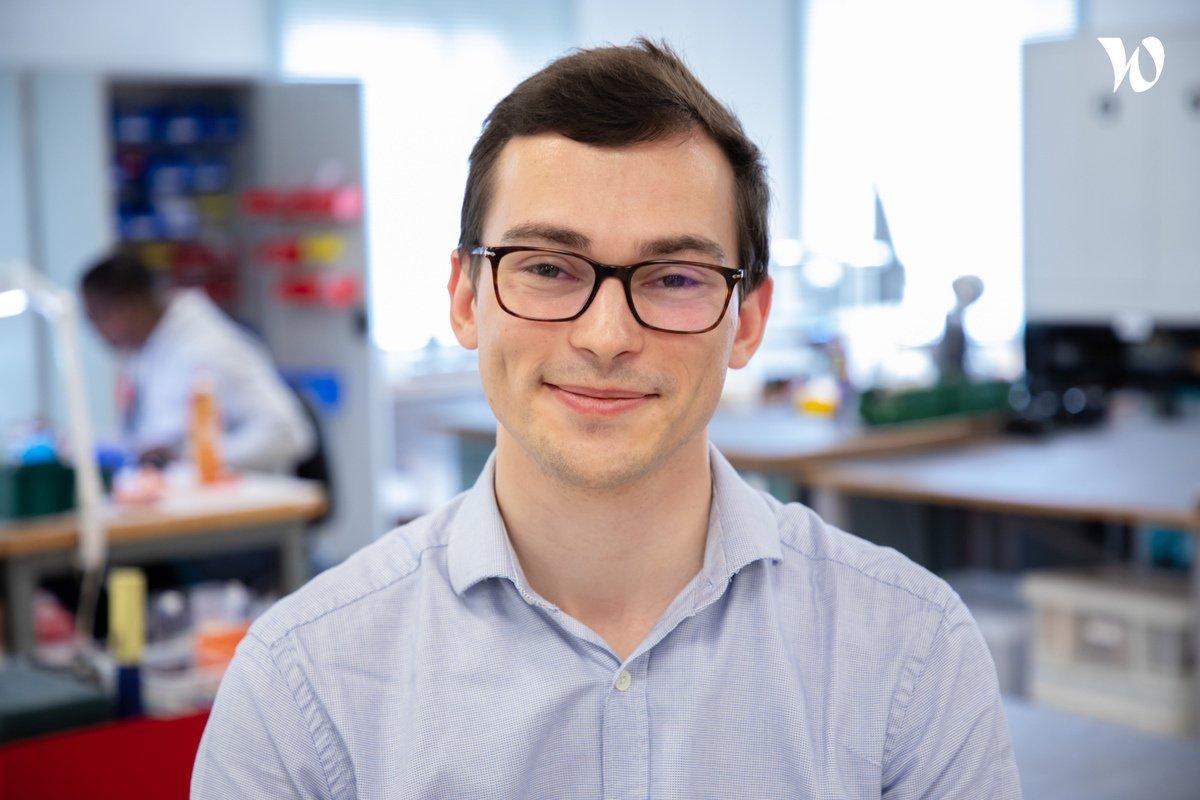 Meet Frédéric, Mechanical engineer  - Scrome