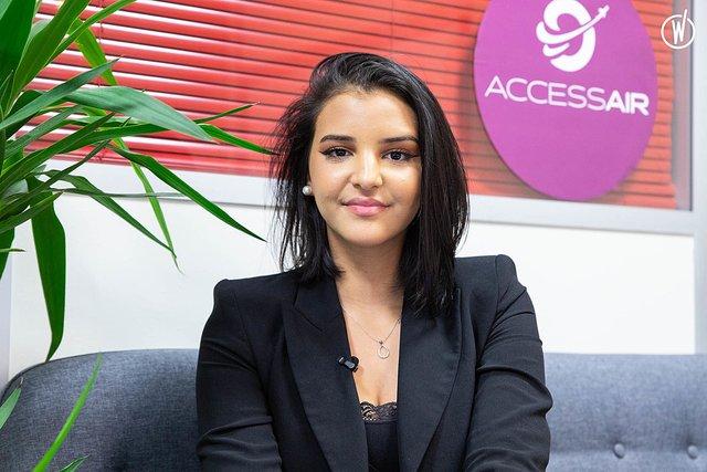Rencontrez Sabrina, Commerciale - Accessair