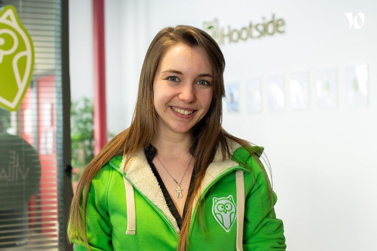 Rencontrez Charlotte, Co fondatrice et Directrice créative - Hootside