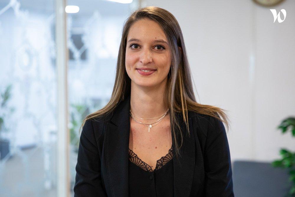 Rencontrez Mathilde, Manager Gestion Retraite - Optimind